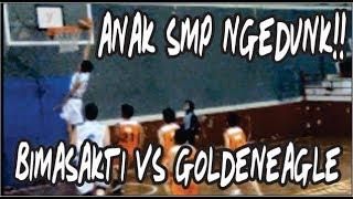 ANAK SMP NGEDUNK !!!   PEBASICUP 2019 U14   BIMASAKTI BANDUNG VS GOLDEN EAGLE