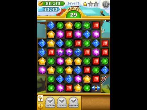 Jewel Mania™ - Охота на самоцветы ios iphone gameplay