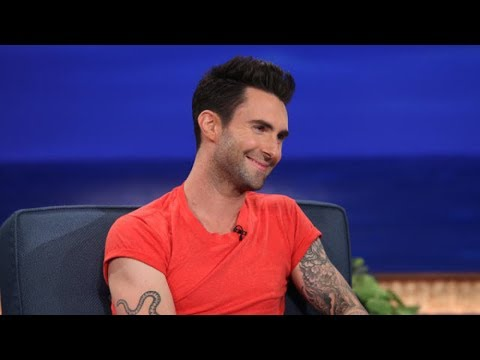 Adam Levine Interview Part 01 - Conan on TBS