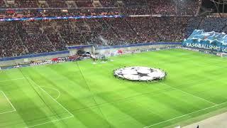 RB Leipzig - AS Monaco | Champions League Hymne / Einmarsch