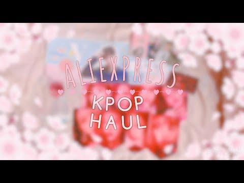 Aliexpress Kpop HAUL #5 | SgChirich Studyblr