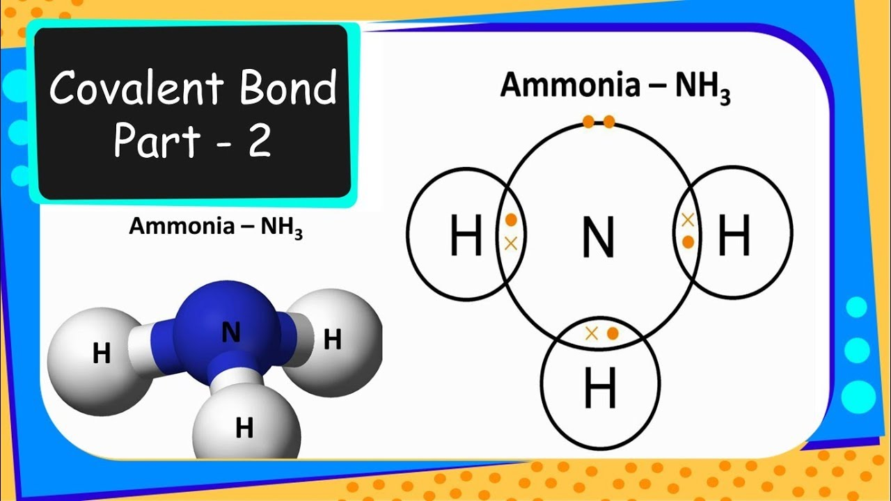 Chemistry – Covalent bond, Bond pair and Lone pair - Chemical Bonding –  Part 4 - English