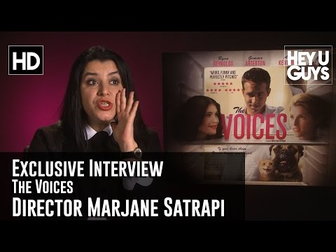 Director Marjane Satrapi Exclusive   The Voices