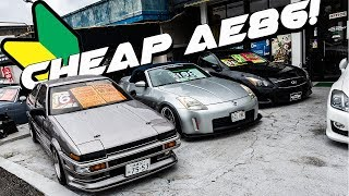 JDM Cars for Sale Japan | Subaru STi, Silvia S14, AE86 and More!