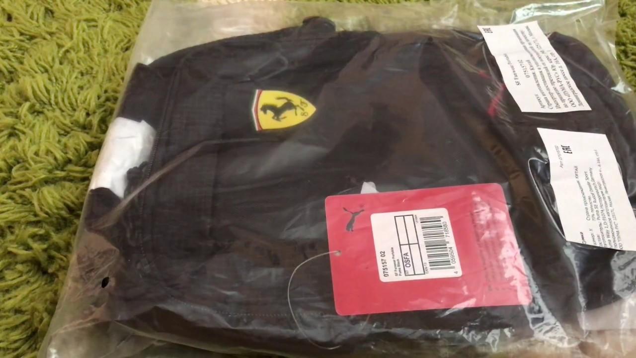 b1f309ce70 Puma Sf Fanwear Portable сумка / unboxing sport bag Ferrari Puma / вперше  на youtube