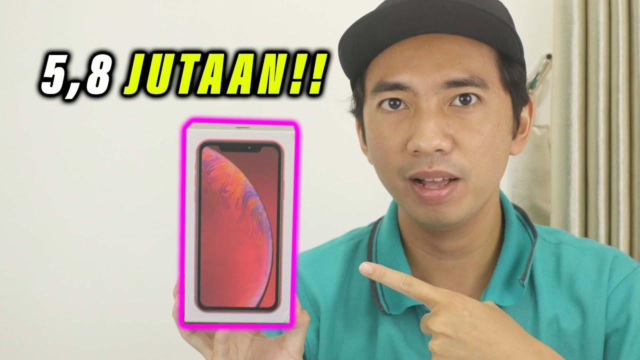 5,8 JUTAAN!!! Unboxing iPhone XR SECOND Murah 2021 ...