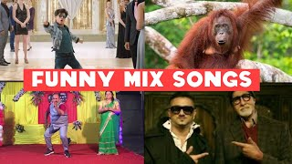Funny mix songs || dabu uncle, Zero srk, Kalibali and more songs || Crazy stuff vines || 😋😋