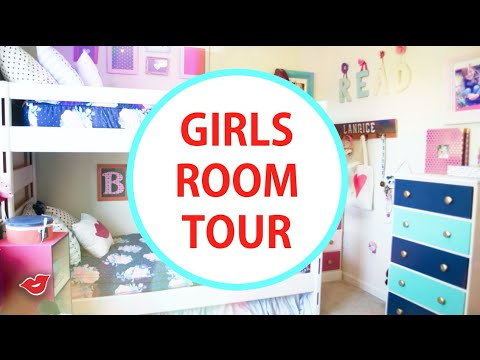 DIY Inspiration | Girls Room Tour! | Auntie Tay