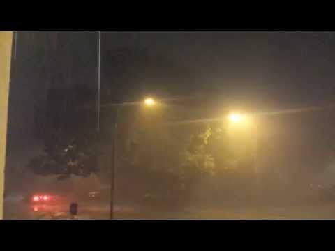 Severe Thunderstorm in Stillwater, Oklahoma - 09/11/15 [HD]