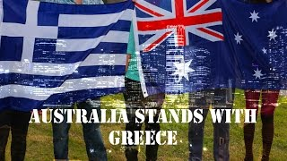 Australia Stands With Greece