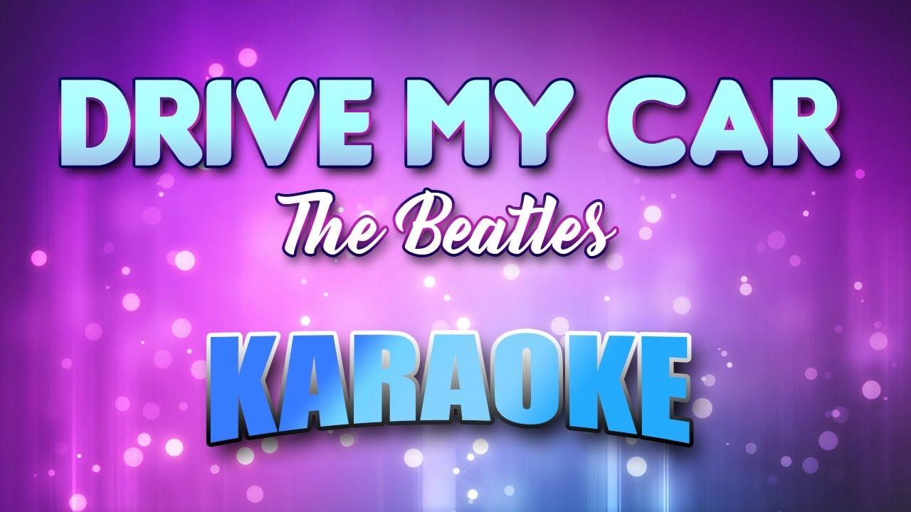 The Cars Drive Lyrics: Drive My Car (Karaoke & Lyrics)