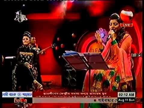 34 Ektu Ektu by Porshi & Arfin Rumey   Live  Porshi & Bornomala