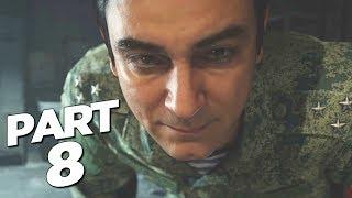 CALL OF DUTY MODERN WARFARE Walkthrough Gameplay Part 8 - BARKOV - Campaign Mission 8 (COD MW)