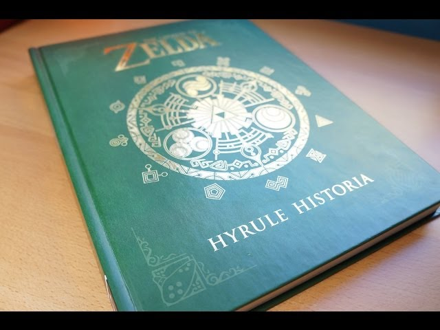 Legend Of Zelda Hyrule Historia Review Youtube