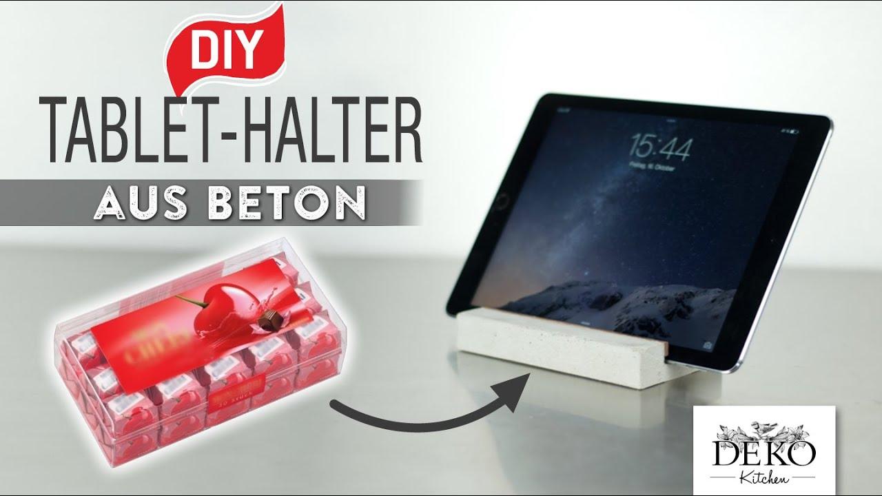 Tablet Halter Küche Diy | Outdoor Küche Bauplan ...