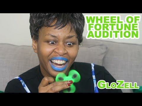 Wheel Of Fortune Audition - GloZell