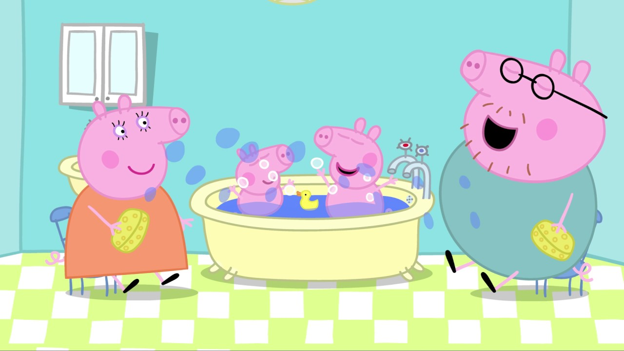 Daddy Pig backs BookTrust\'s Bath, Book, Bed campaign - YouTube