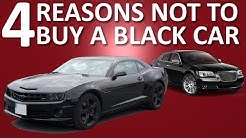 4 Reasons NOT to Buy a Black Car