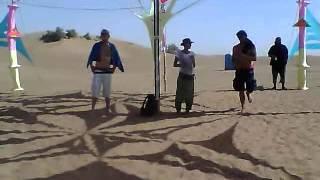 Part 1 of Set Djane Anymel @ Zagoa Festival in the Desert of Marocco 2012.MP4