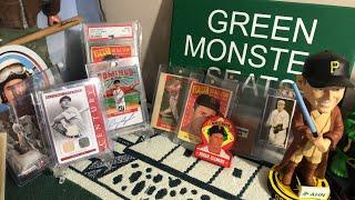 Sports card memorabilia auction
