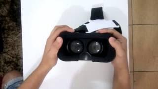 VR Box 2.0 / Resenha  / Review / óculos de realidade virtual / vr box vale a pena comprar / ML