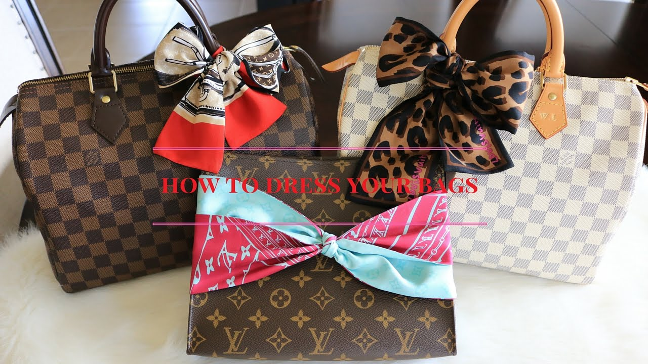 461f58150bf7b How to dress your Louis Vuitton Speedy 30