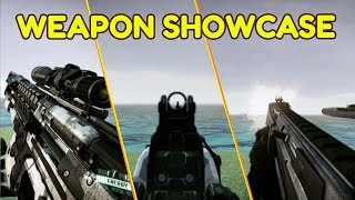 Crysis 2 All Weapons Showcase 6 Reload Animations Per Weapon*stealth-armor-normal 60 Fps