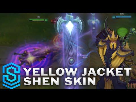 Yellow Jacket Shen 2016 Update Skin Spotlight Pre Release
