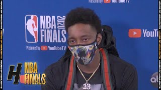 Bam Adebayo Postgame Interview - Game 6 | Heat vs Lakers | October 11, 2020 NBA Finals