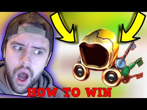 HOW TO WIN THE GOLDEN DOMINUS AND FIND KEYS! (Ready Player One Event)