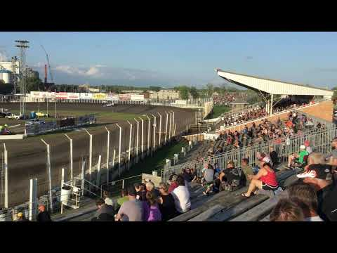 July 26 River Cities speedway Late model heat 1
