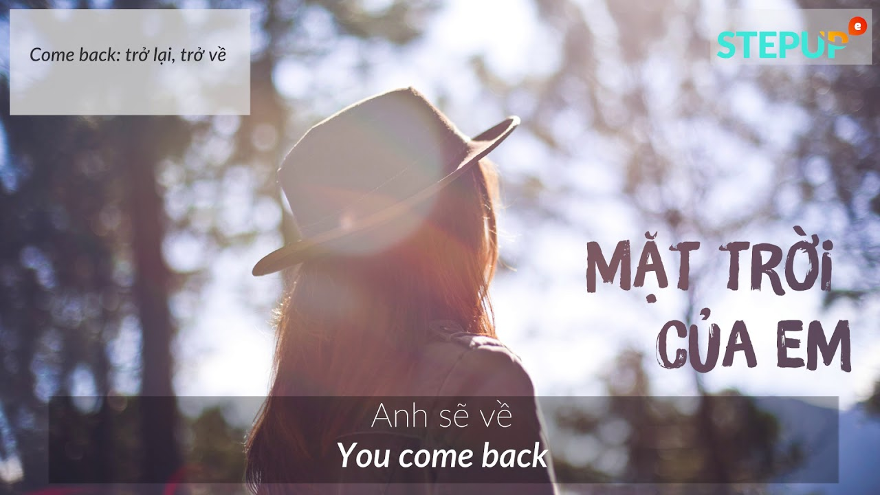 MẶT TRỜI CỦA EM | Phương Ly, JustaTee | English Cover by Step Up