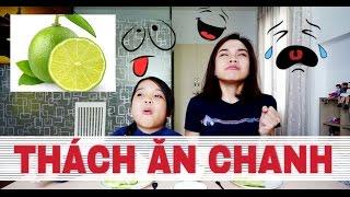 THỬ THÁCH ĂN CHANH: AI SẼ BỊ DỘI NƯỚC ĐÁ ? / LEMON CHALLENGE - SONG THƯ CHANNEL(Clip hài hước)