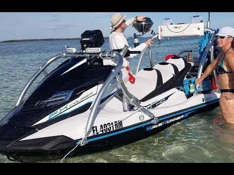 PART 3: HOW TO Setup Rig Yamaha FXHO WaveRunner For Fishing