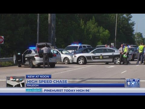 Wild chase in Wake County Tuesday