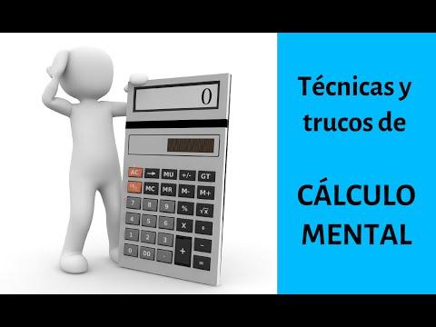 Aprender a calcular mentalmente - Cómo hacer cálculo mental rápido (trucos)