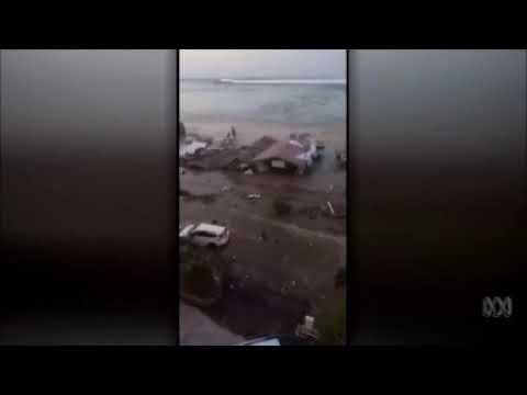 TSUNAMI AFTER 7 5 EARTHQUAKE IN INDONESIA