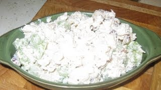 Chicken Salad With Green Grapes And Walnuts -  Video 41