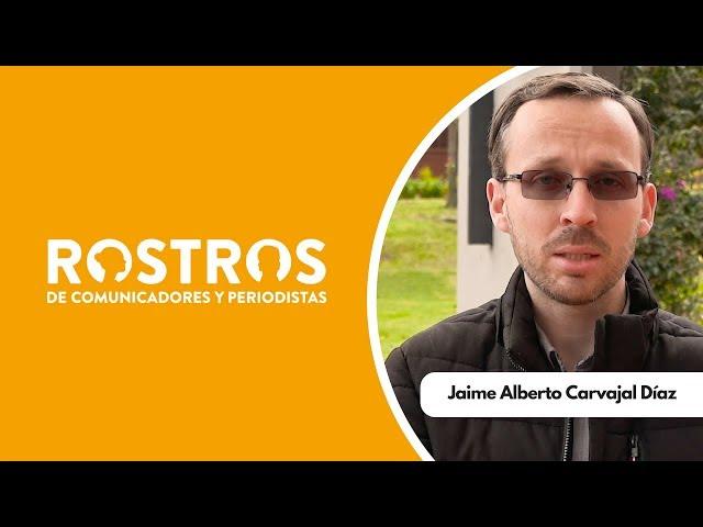 Jaime Carvajal, comunicador y docente de la mano de Dios