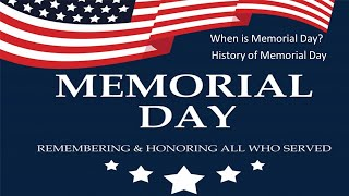 Memorial day 2021   when is & history weekend