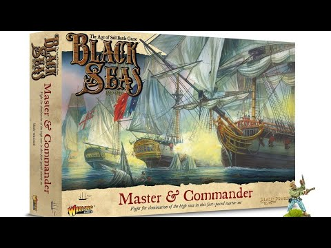 Black Seas LIVE! First Look - Master and Commander Box Set