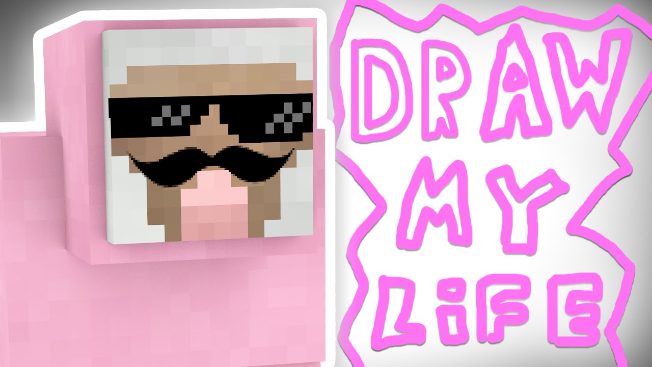 draw my life pink sheep youtube