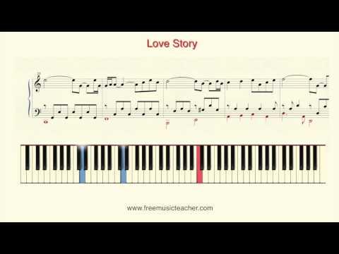 "How To Play Piano Richard Clayderman ""Love Story"" Piano You Tutorial by Ramin Yousefi"