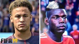 FIFA 19 +30 NEW FACES | FT. NEYMAR, POGBA, ODRIOZOLA, ALISSON...etc