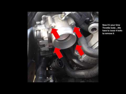 P0106 - Removing and cleaning MAP sensor VolksWagen Passat 2012 engine 2 5L - updated 101