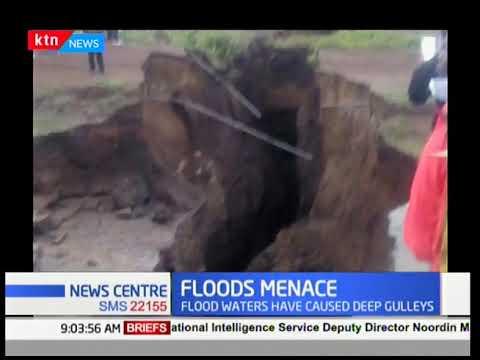 Narok - Mai Mahiu road closed after a section sinks over heavy rains, police urge motorists to use a