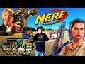 NERF Star Wars Han Solo DL-44 & Rey Blaster Review/Range Test