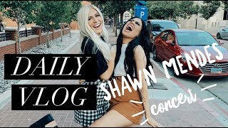 A DAY IN MY LIFE VLOG | FLOOR SEATS TO SHAWN MENDES!