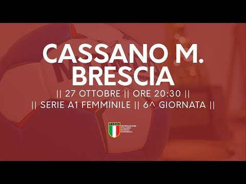 Serie A1F [6^]: Cassano Magnago - Brescia 21-24