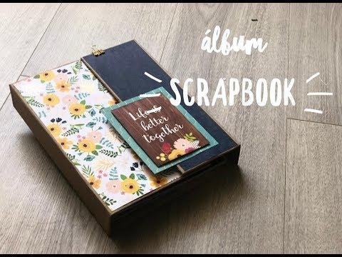 Cómo hacer un Álbum Scrapbook